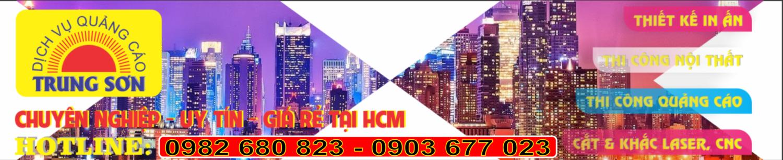 Làm bảng hiệu quảng cáo giá rẻ ở HCM